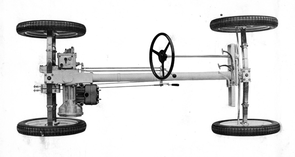 Chassis of the Standard Superior