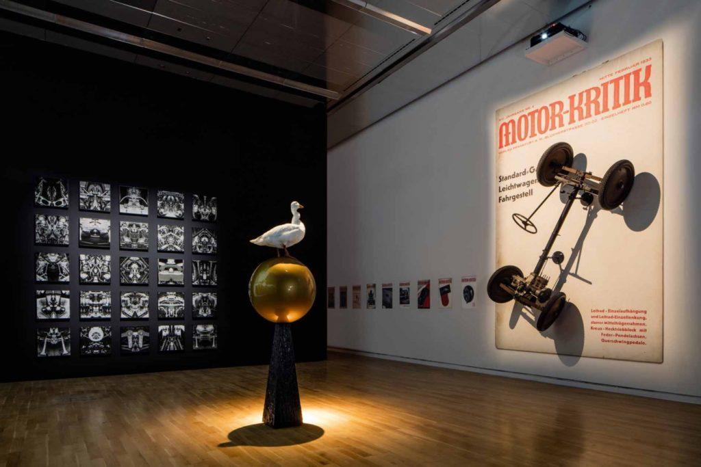 Room installation 'Nudnik. Forgetting Josef Ganz' by artist Rémy Markowitsch (© Courtesy Galerie Eigen+Art Foto: Marek Kruszewski)