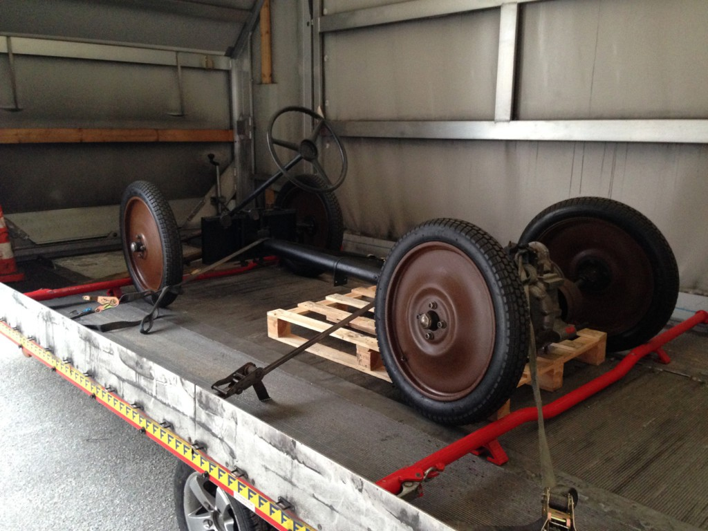 Standard Superior Chassis loaded on 05-01-2015