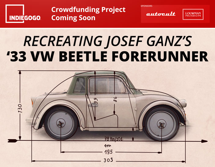 Josef Ganz Crowdfunding Project